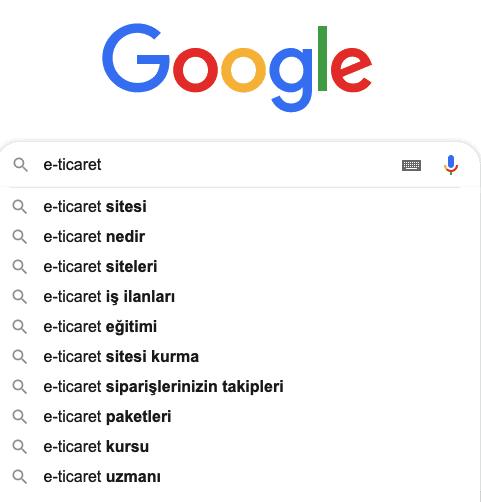 Google Asistan Long Tail